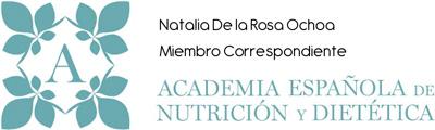 Miembro de la Academia Española de Nutrición y Dietética